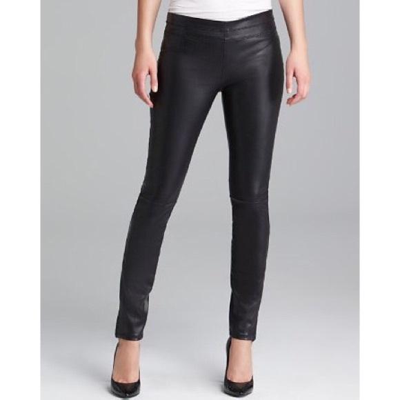 bc97d45f0bb8d1 Blank NYC Pants | Blanknyc Vegan Faux Leather Leggings Brown 23xxs ...
